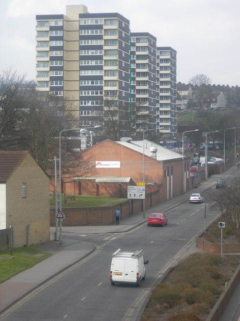 Tower Blocks on Bryant Street
