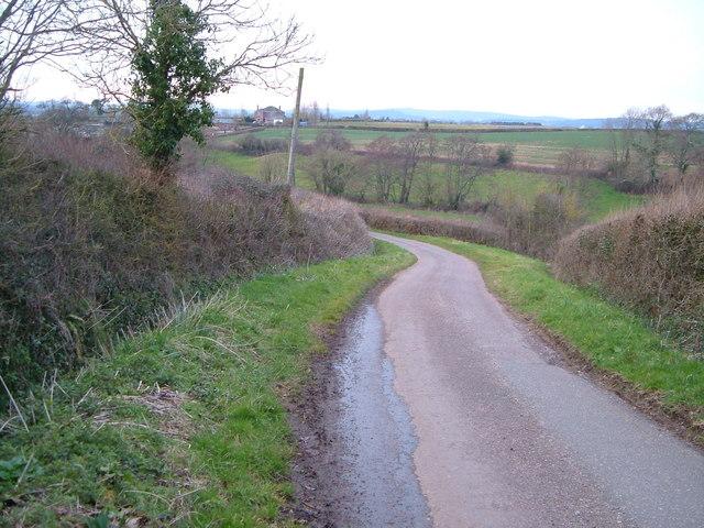 Lane to Holbrook Bridge