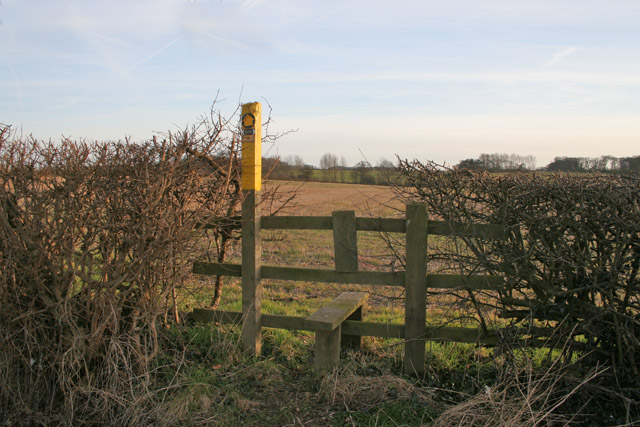 Footpath near Syston Grange, Leicestershire