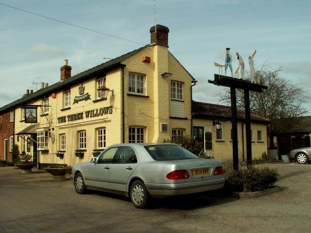 'The Three Willows', Birchanger, Essex