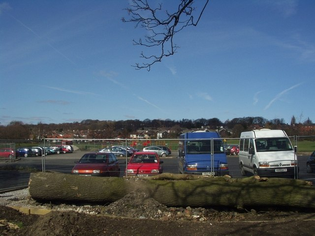Kirkstall Abbey car park