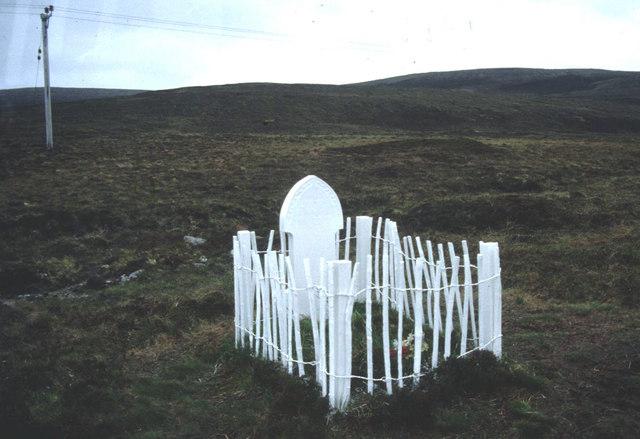 Betty Corrigal's grave