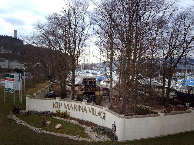 Kip Marina Boatyard