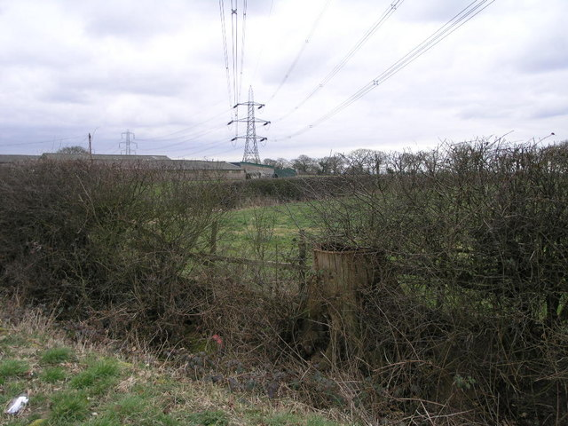 Pylons and Farm