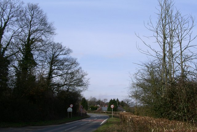 The entrance to the village of Hillside