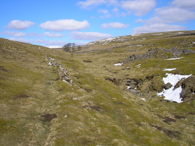 Dry valley on Grassington Moor
