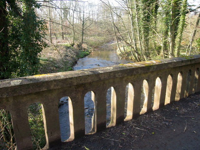 Bridge over Biel Water at Bielmill