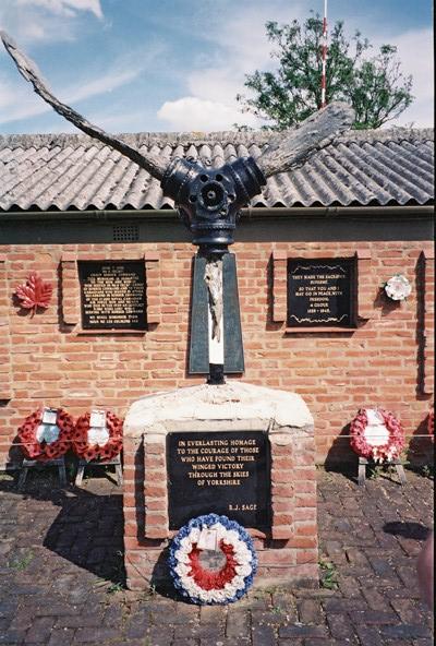 Yorkshire Air Museum Memorial Garden
