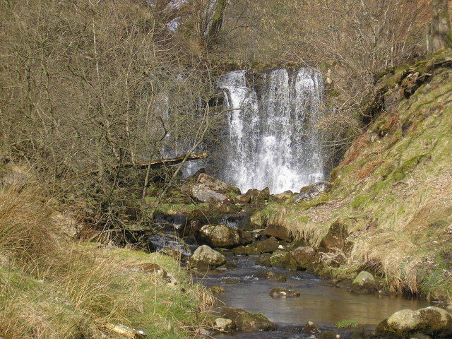 Waterfall on Hebden Beck