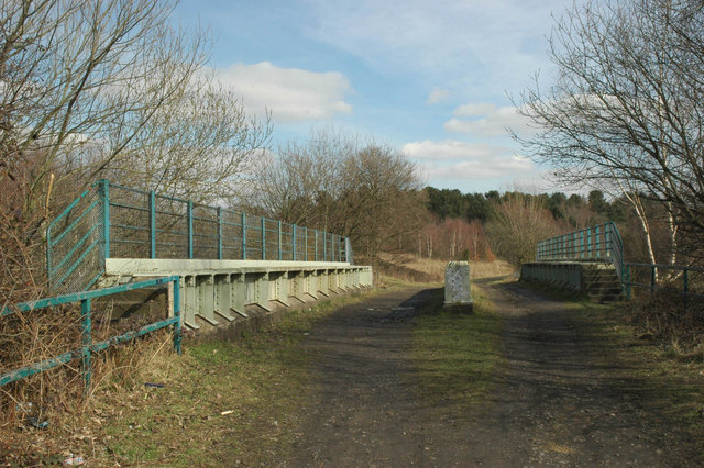 Railway Bridge on the Trans-Pennine Trail