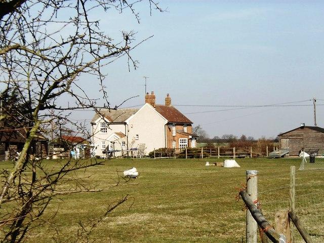 House in Apton Hall Road, near Canewdon