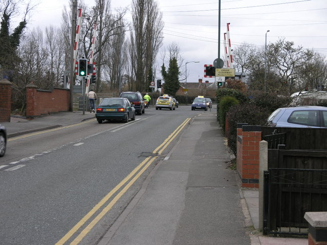 Traffic on a Level Crossing