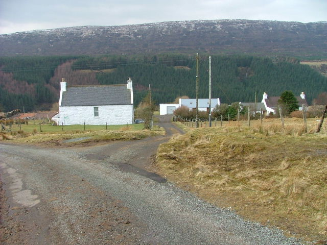 Croft on the road to Bay