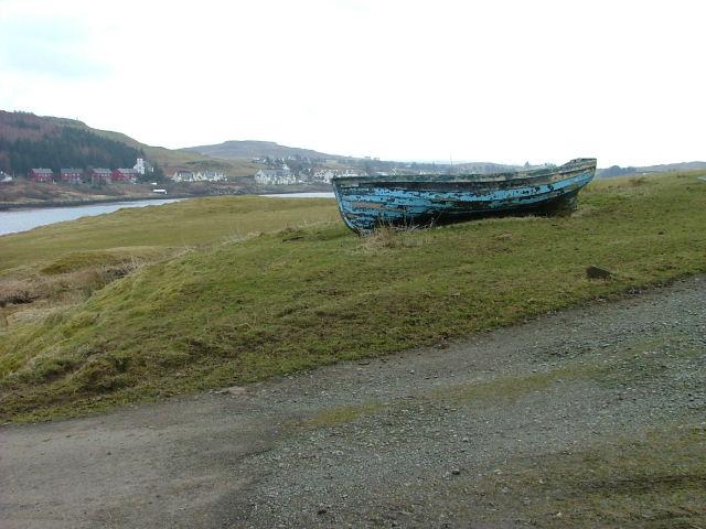 Boat at Uiginish