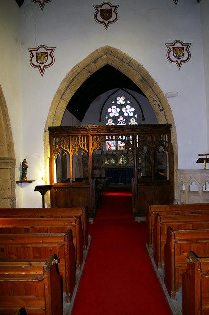 Claxby Church - Interior
