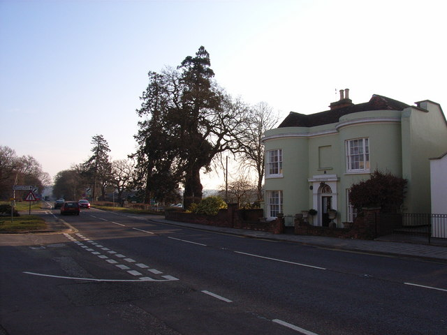 The A30, Hartley Wintney