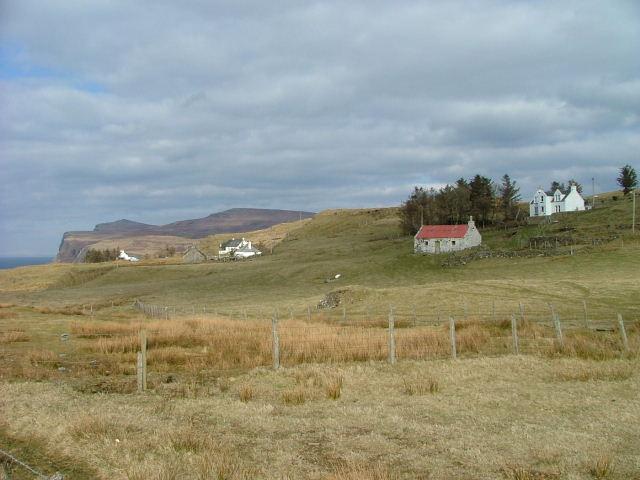 Crofts in Upper Milovaig