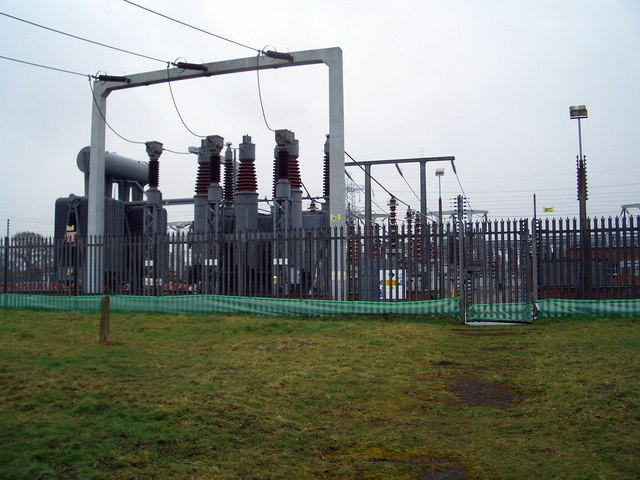 Electric  grid  Station