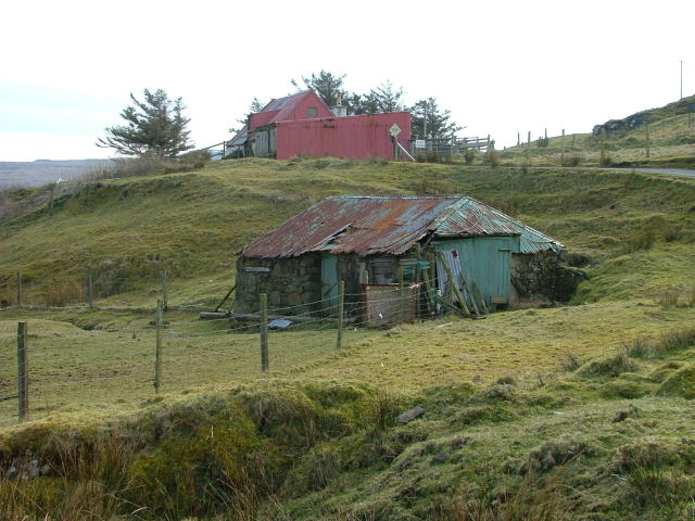 Dilapidated Croft Building