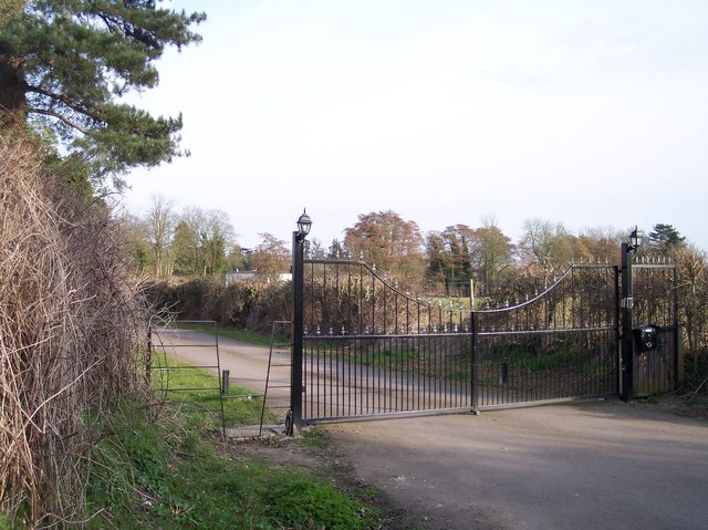 The Gates to Highnam Court