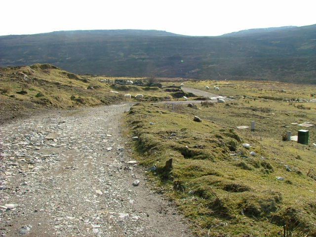 Track at the Fasach road end