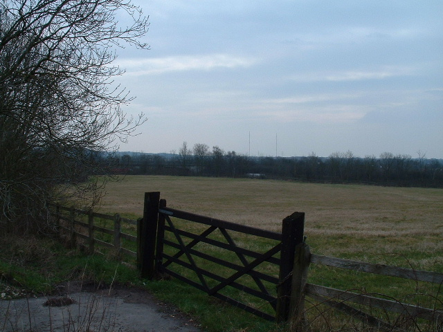 Farmland near the M4 motorway