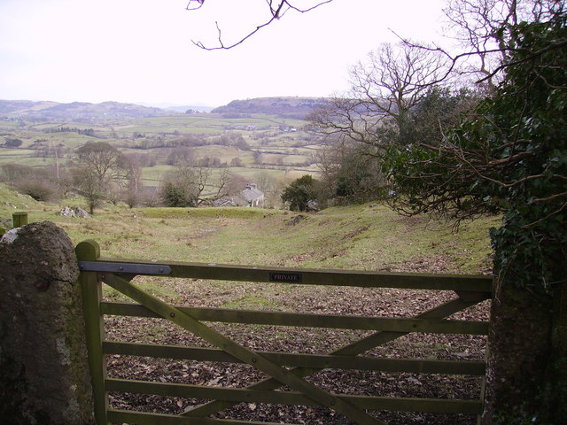 Gate Near Strawberry Bank