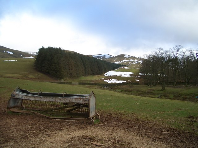The Fells above Gale Hall Farm