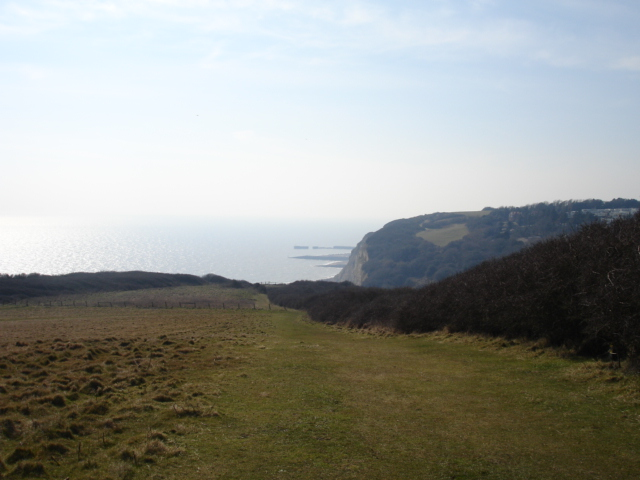 Saxon Shore Way Hastings East Sussex