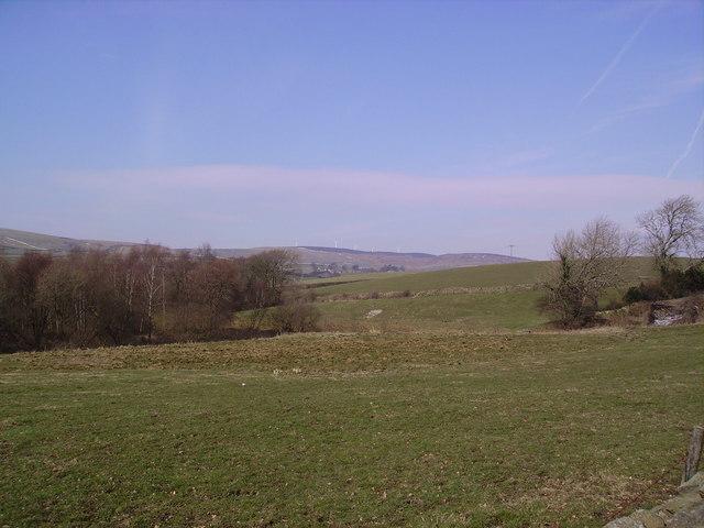 Looking towards Osmotherly Moor