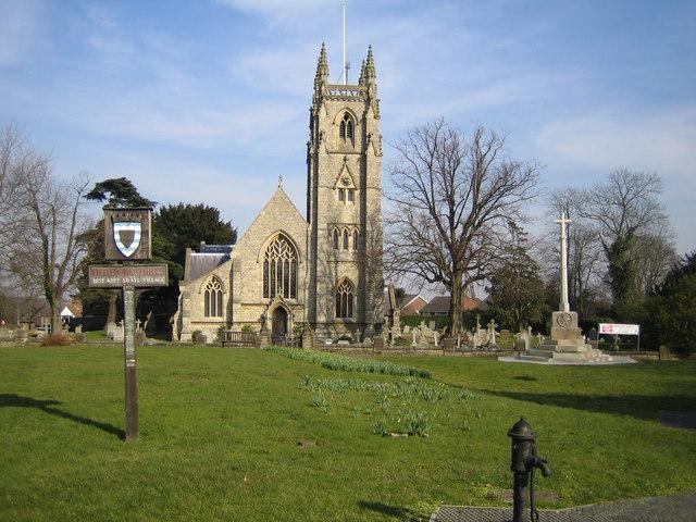 Northaw: St Thomas a Becket Church