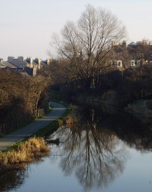 Union Canal near Polwarth Church