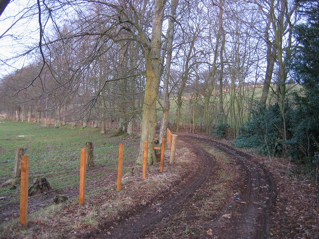 Track to Linplum House