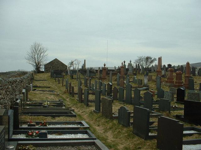Cemetery at Nantcyll Ganol