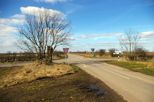 Crossroads near Walesby