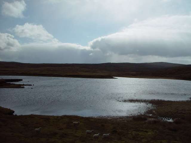 Sae Water, between Voe and laxo, Shetland
