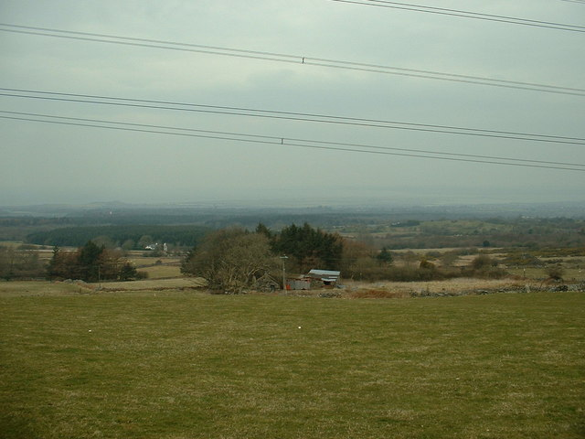 Farmland near Penygroes