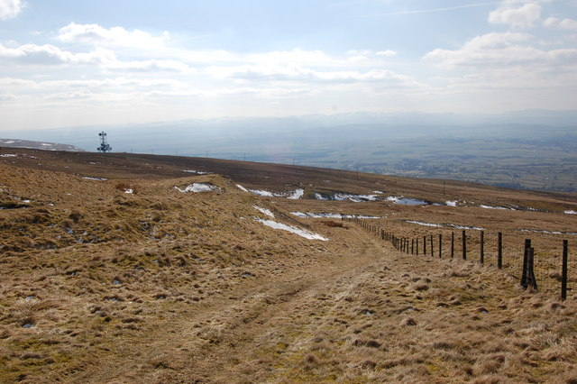 Public footpath from Hartside Cafe to Hazel Rigg