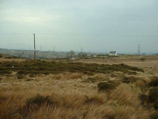 Moorland near Carmel