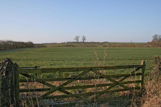 Farmland near Thrussington