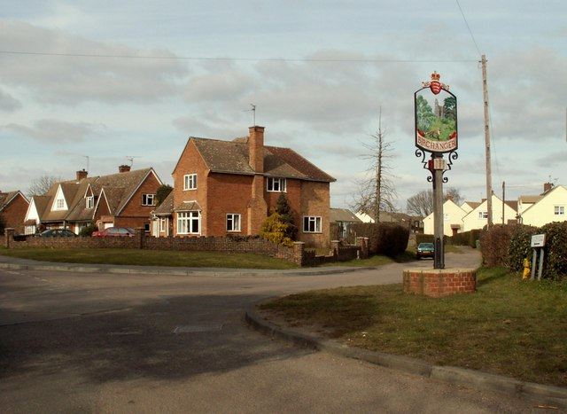 Village Sign, Birchanger, Essex
