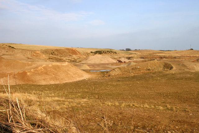Gravel/ Sand Pit