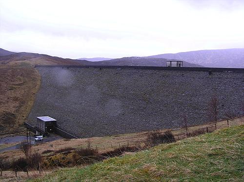 Dam for Loch Quoich