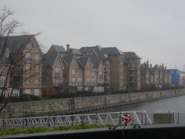 Dockside Houses, St Mary's Island