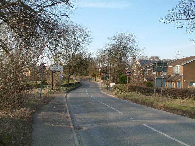 Rod Moor Road.