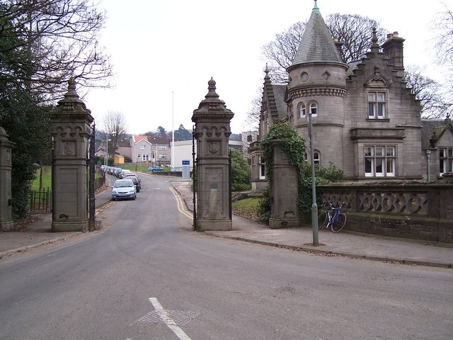 Dumbarton, Old Overtoun Estate Gateway