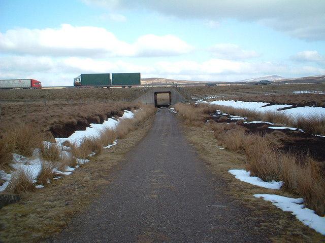 Motorway underpass