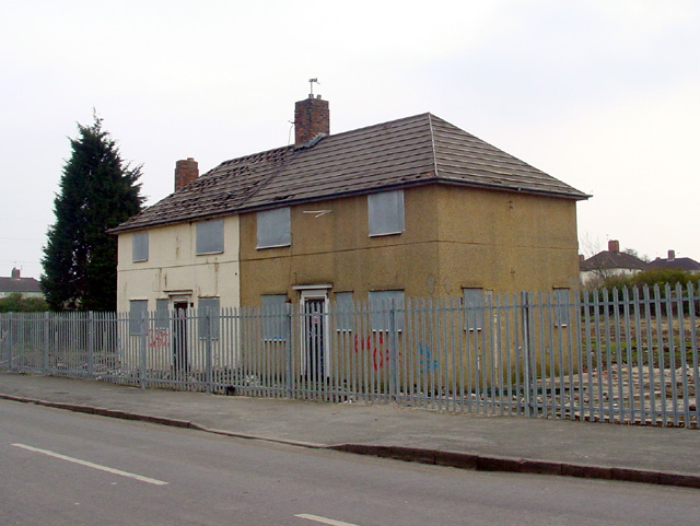 Houses to be demolished, Filton