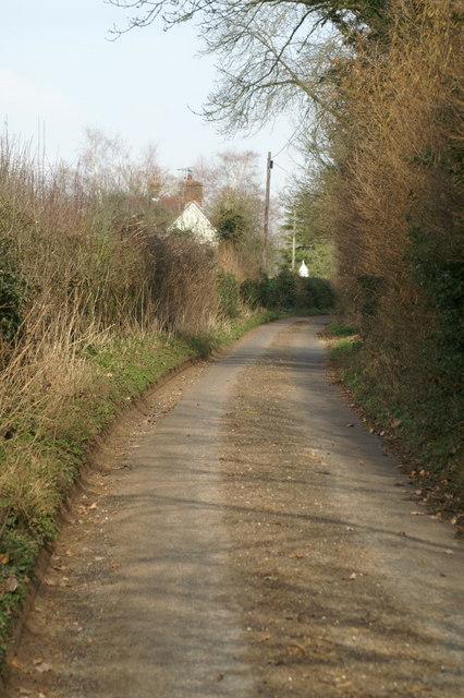 Eldon Road near Hall Place