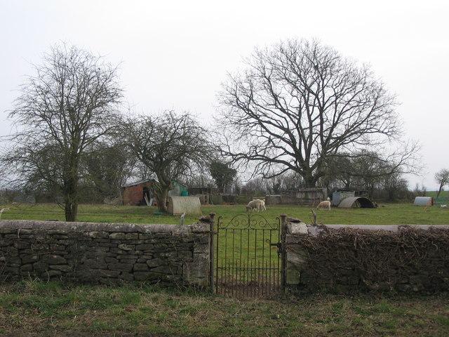Smallholding gate.